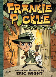 My first giveaway-Frankie Pickle and the Closet of Doom by Eric Wight