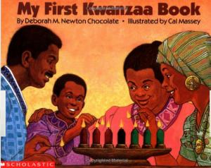 My First Kwanzaa Book By Deborah Newton Chocolate