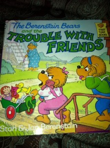 Wordless Wednesday – The Berenstain Bears