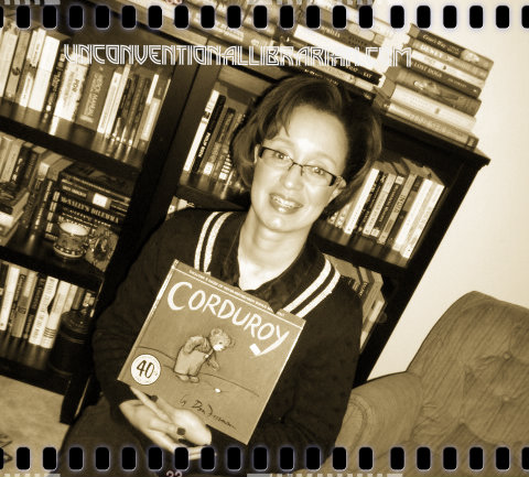 Unconventional Librarian Corduroy