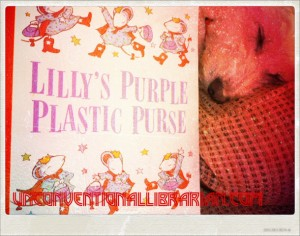 #AtoZChallenge: L-Lilly's Purple Plastic Purse by Kevin Henkes