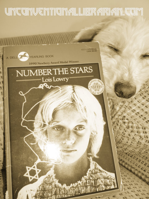 #AtoZChallenge: N-Number the Stars by Lois Lowry
