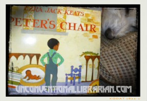 Blogging A to Z: P-Peter's Chair Ezra Jack Keats