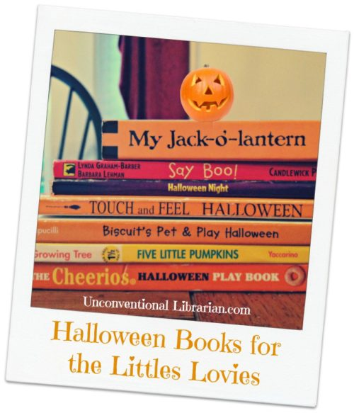 Preschoolers Want Halloween Books Too!