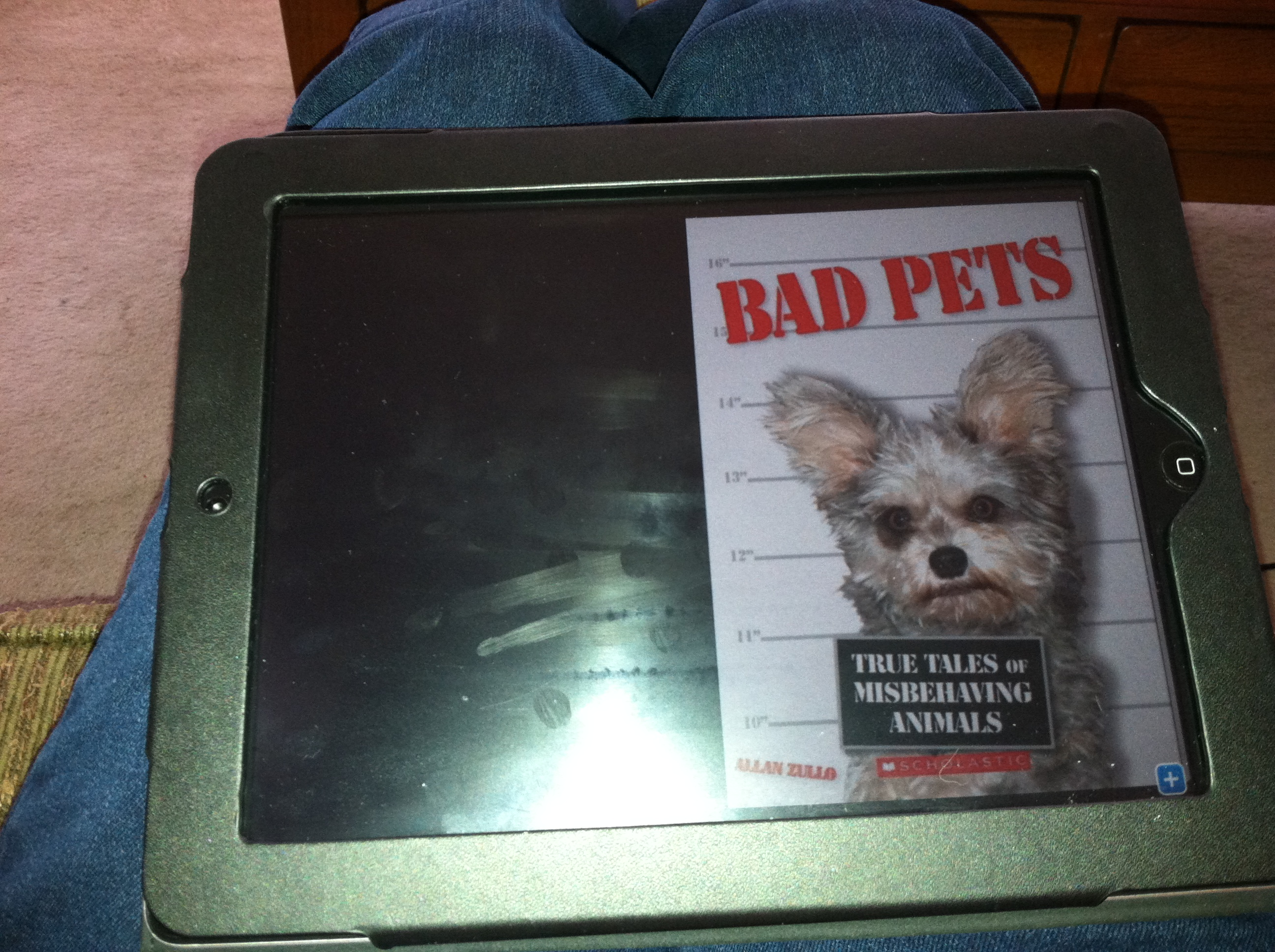 Unconventional Librarian reading Bad Pets