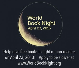 Be A World Book Night Giver!