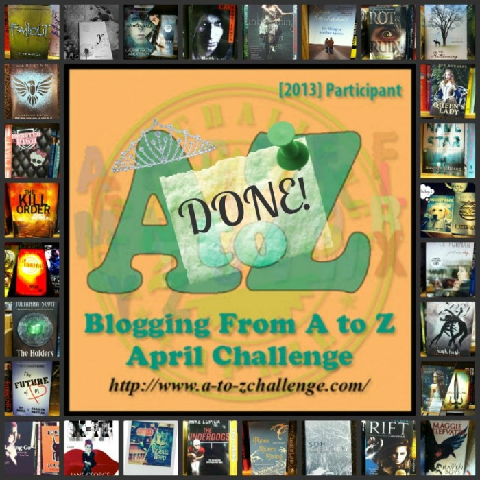 Blogging from A to Z Challenge–RECAP