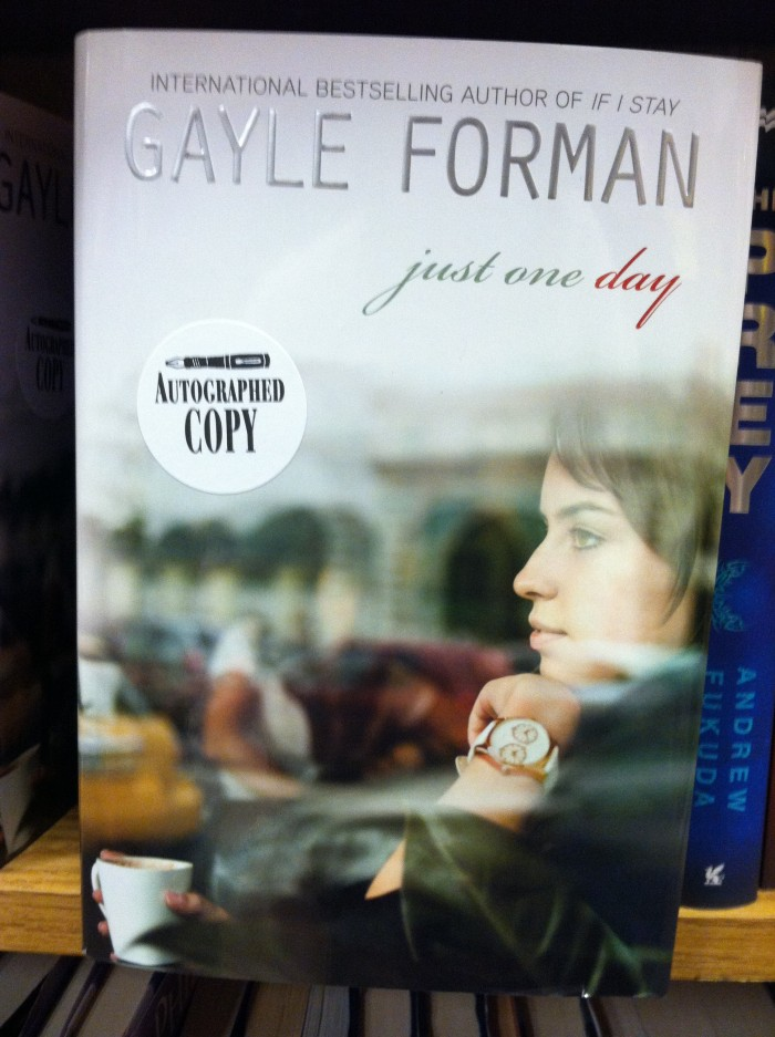 Unconventional Librarian Gayle Forman