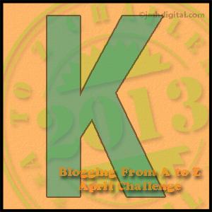 K #atozchallenge