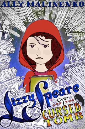 Missing L #AtoZChallenge, Lizzie Speare and the Cursed Tomb