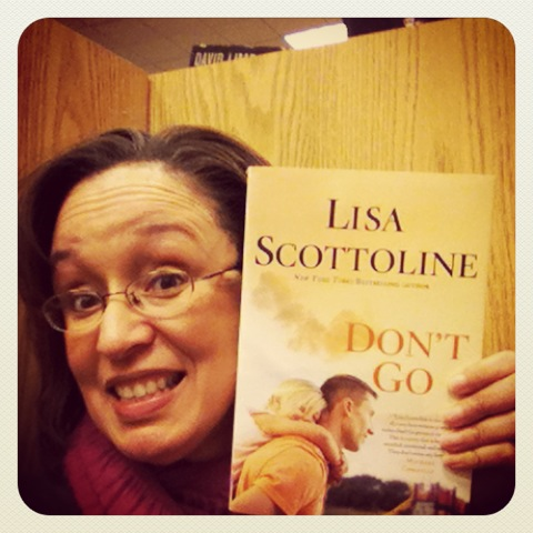 Lisa Scottoline Book Club – Don't Go UPDATE!!