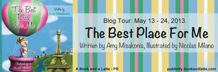 The Best Place for Me by Amy Misakonis and Giveaway!