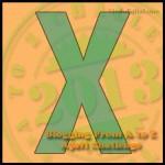 X #atoz Challenge