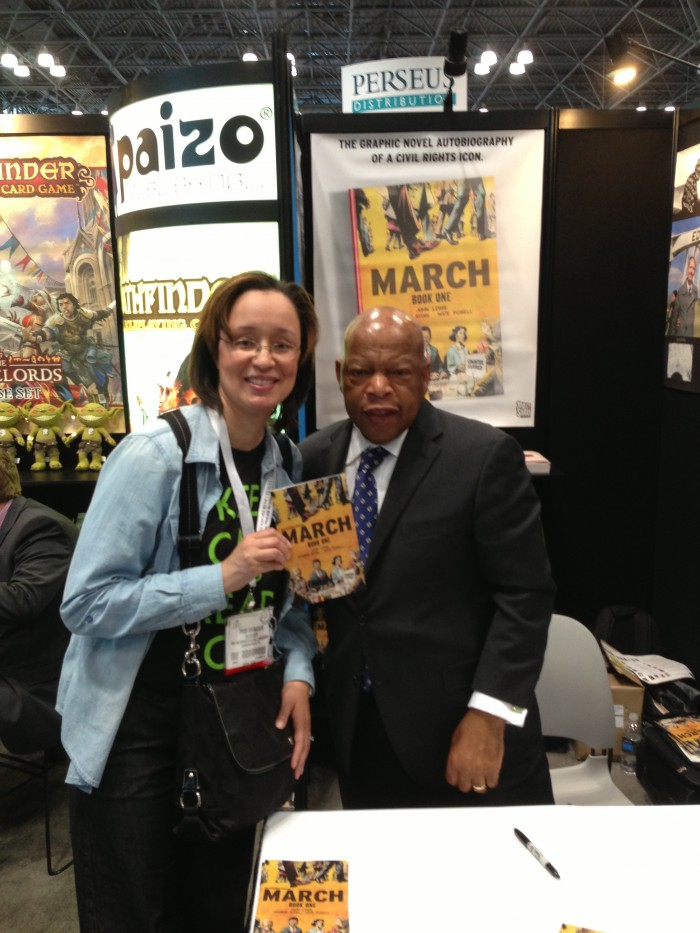 Congressman John Lewis Rocked Me at BEA#13