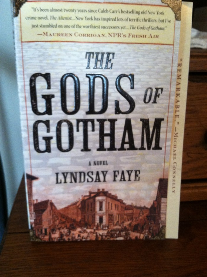 The Gods of Gotham Lyndsay Faye SPOTLIGHT