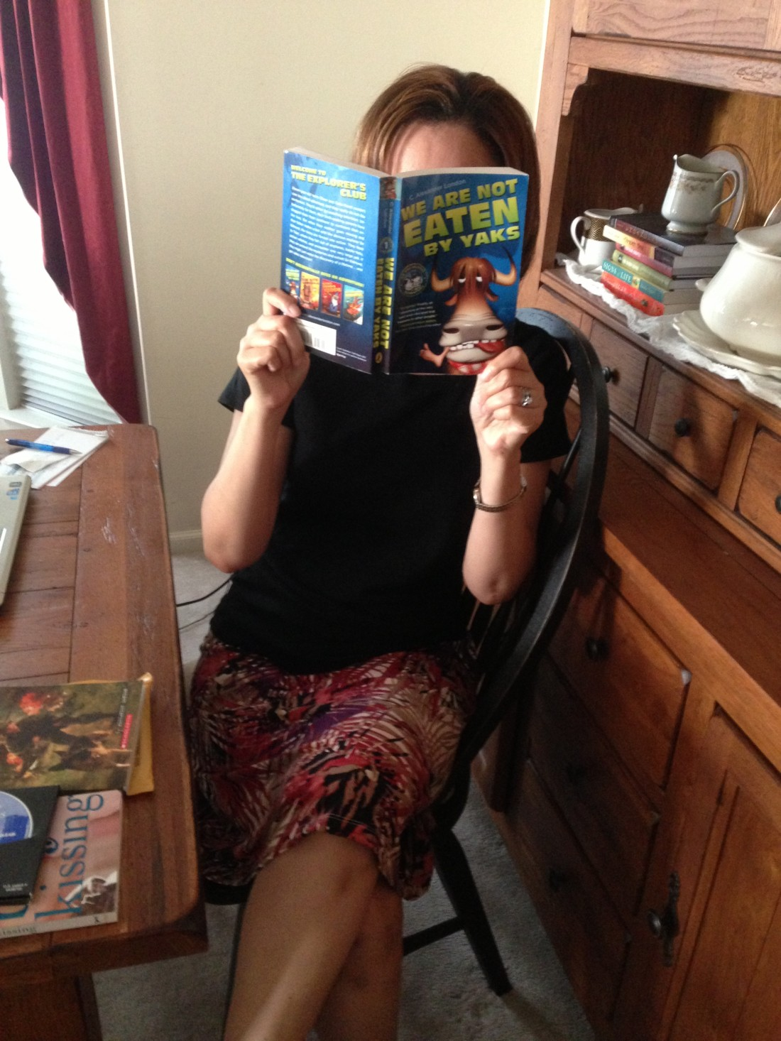 Tween Book Club We Are Not Eaten by Yaks by C Alexander London