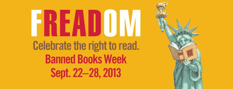 Celebrate the FREADOM to Read: Banned Book Week