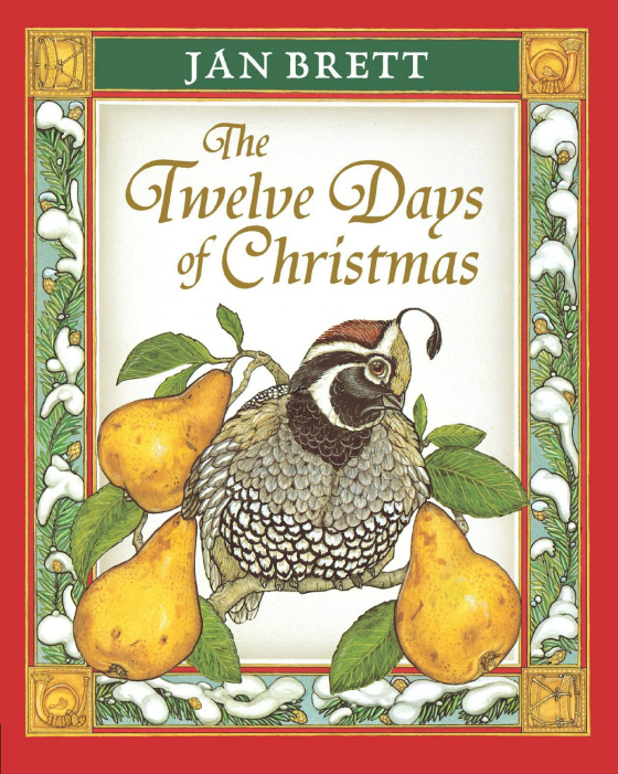 the twelve days of christmas by jan brett