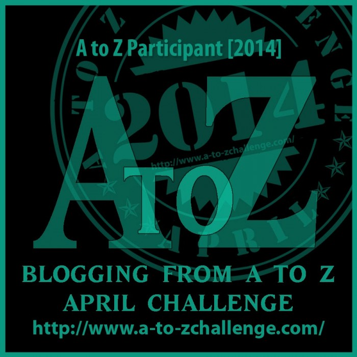 Blogging from A to Z Challenge #atozchallenge