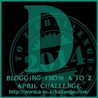 #atozchallenge letter D
