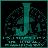J is for Jabba and others #AtoZ Challenge