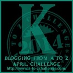 K is for Pizza – #AtoZ Challenge