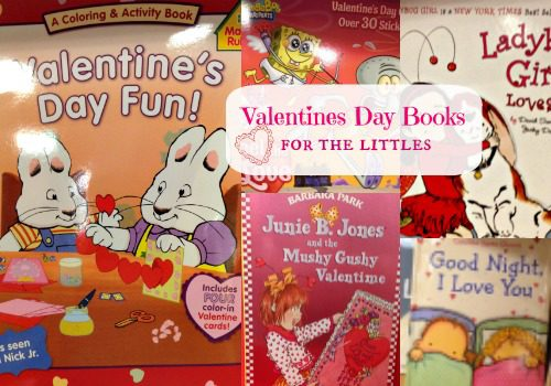 Valentine's Day Books for the Littles