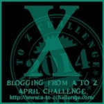 X means Cheating  #AtoZ Challenge