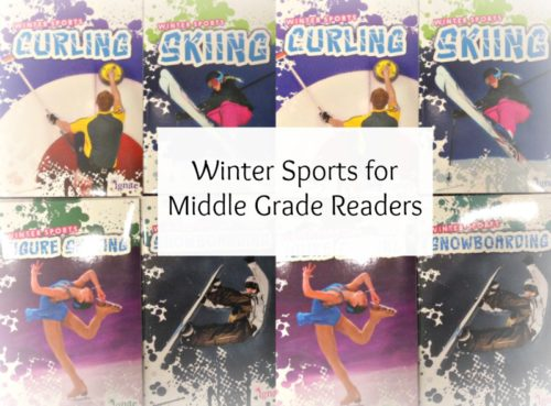Winter Sports Reads for Middle Grade Readers #Olympics2014