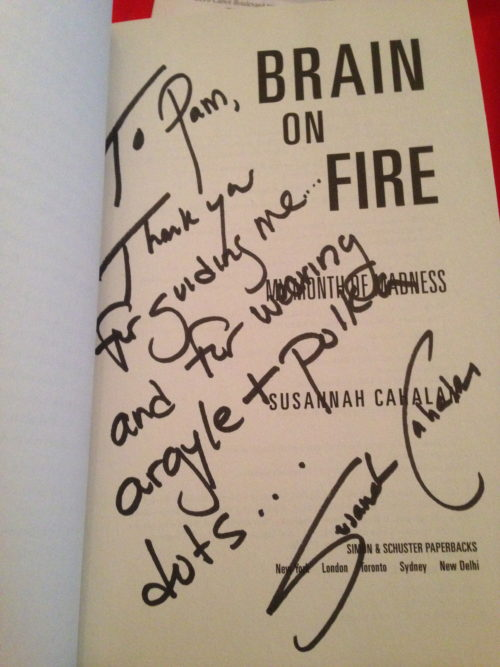 Susannah Cahalan's Brain on Fire
