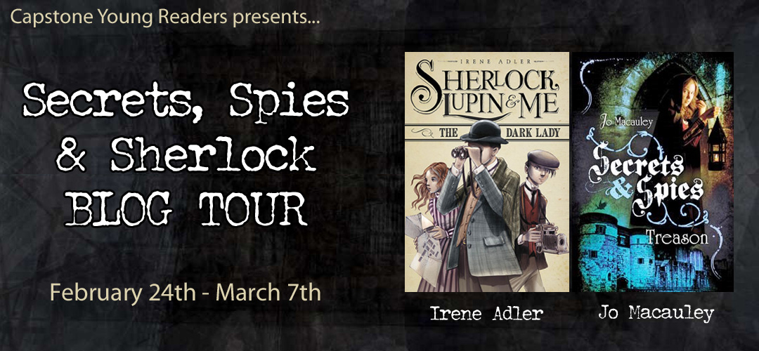SECRETS, SPIES & SHERLOCK BLOG TOUR