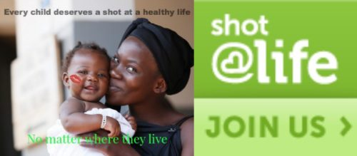 Every Child Needs a Shot@Life. To Read.
