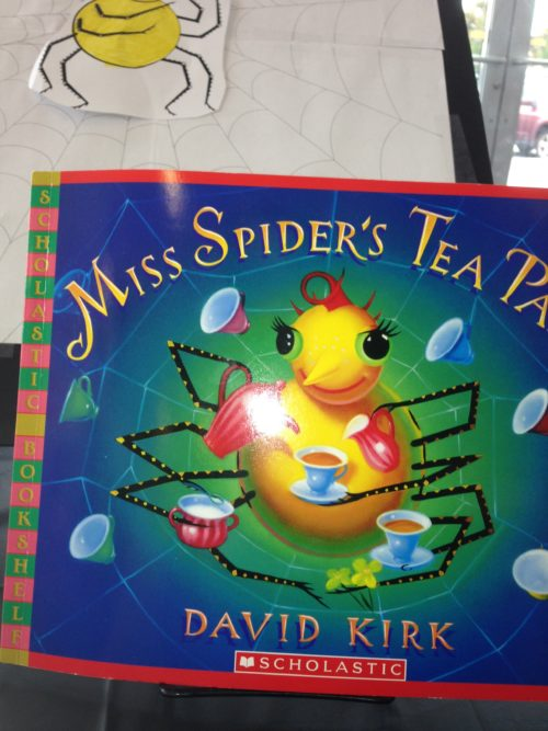 Bookish Tea Party Fun: Miss Spider's Tea Party