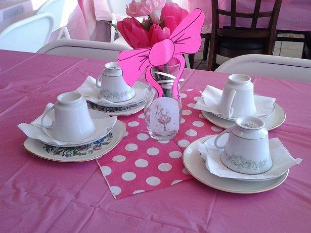 Bookish Tea Party Fun: Angelina Ballerina