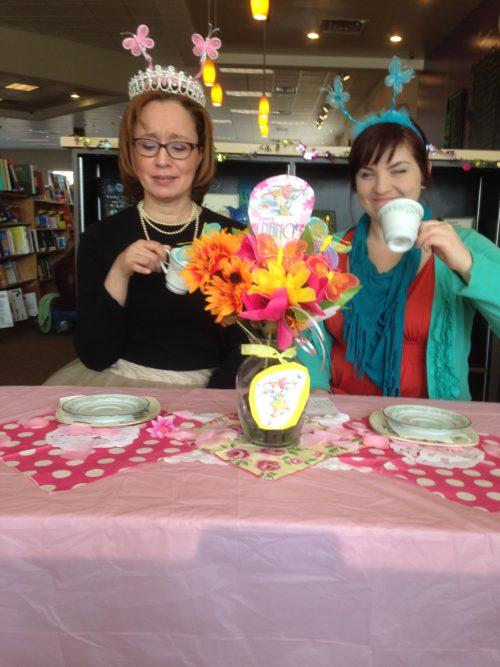 Bookish Tea Party Fun: Fancy Nancy