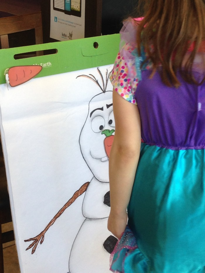 Pin the Nose Olaf