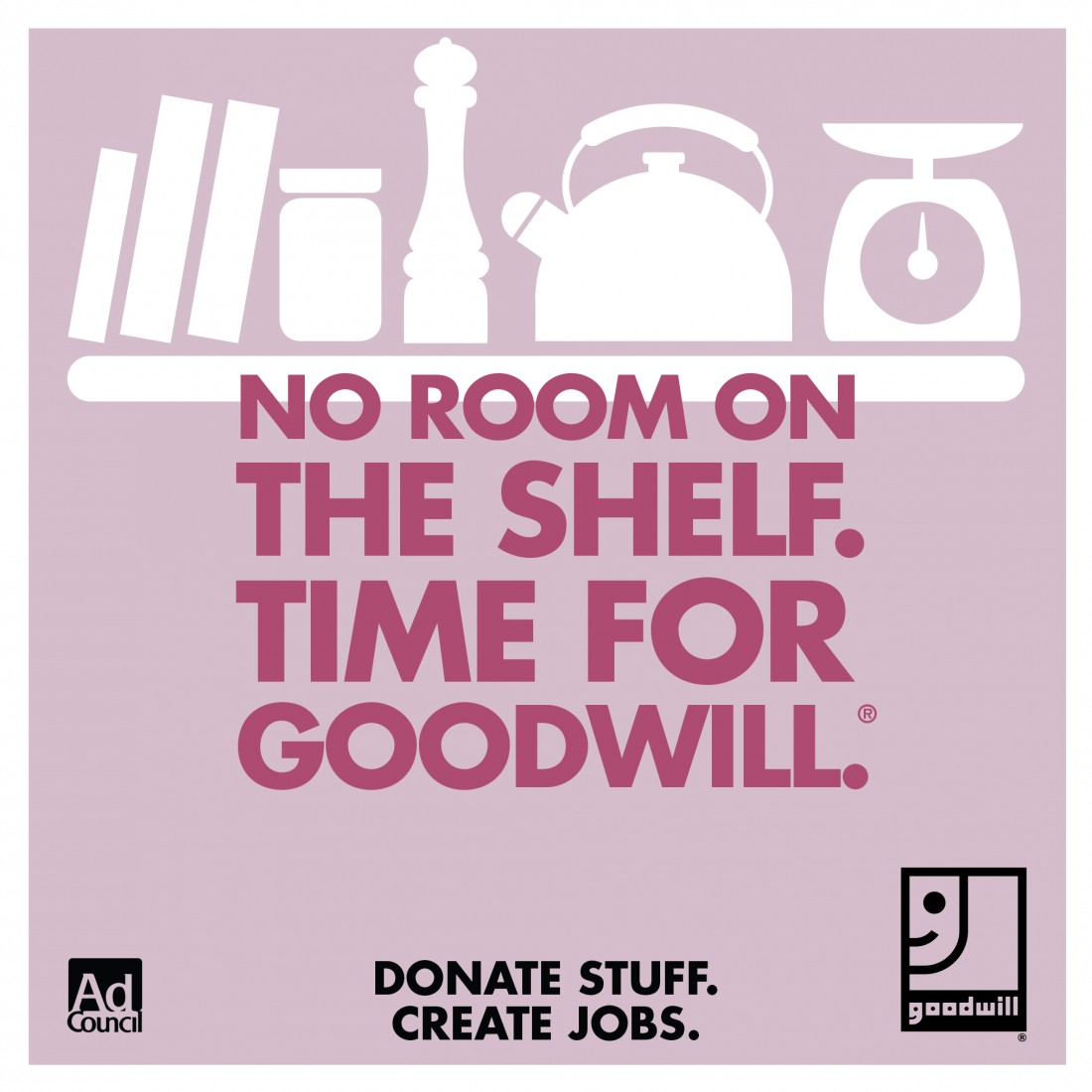 Got Books? Donate them to Goodwill.