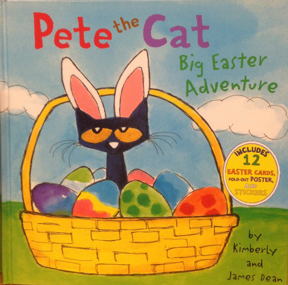 Pete the Cat Big Easter Adventure www.unconventionallibrarian.com