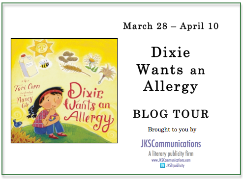 Dixie Wants an Allergy Tour Badge
