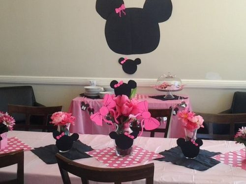 Bookish Tea Party Fun: Minnie Mouse Fun