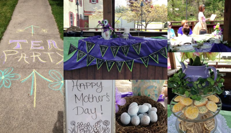 Bookish Tea Party Fun: Mother's Day