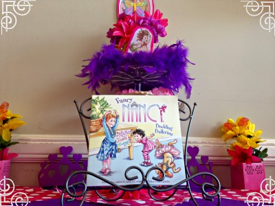 Bookish Tea Party Fun:  More Fancy Nancy Fun!