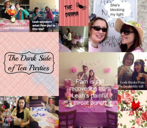 Bookish Tea Party Fun: The Dark Side of Tea Parties