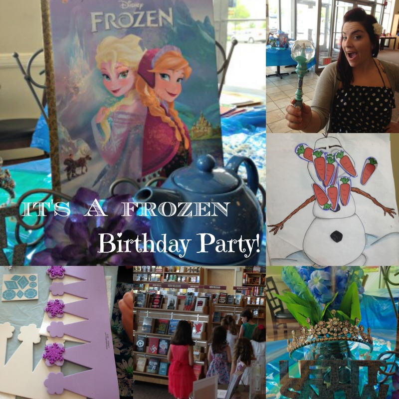 Bookish Tea Party Fun: ANOTHER Frozen Party!