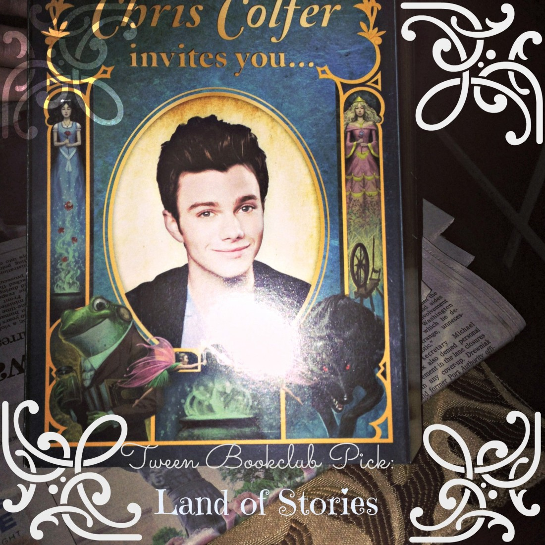 Tween Book Club Land of Stories by Chris Colfer