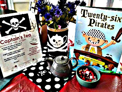 Bookish Tea Party Fun: Pirates