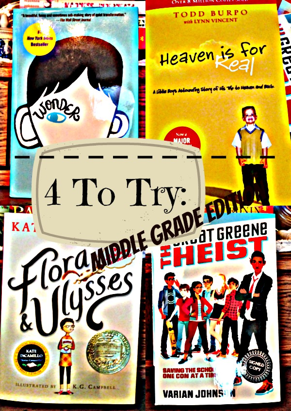 Want to Try Reading Something Different? 4 To Try: Middle Grade