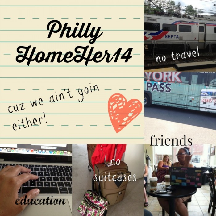 Can't Get to BlogHer? Try Philly HomeHer14!