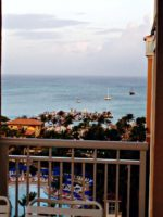 Bookish Traveler Travels to  Marriott's Aruba Surf Club