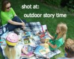 It's Summer! Give a Kid a Shot at: Outdoor Story Time